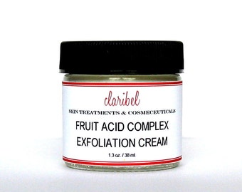 AHA Exfoliation Cream | Fruit Acid Complex & Hydration
