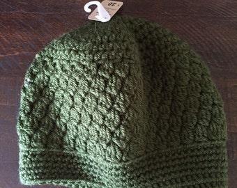 5t-tween solid olive hat