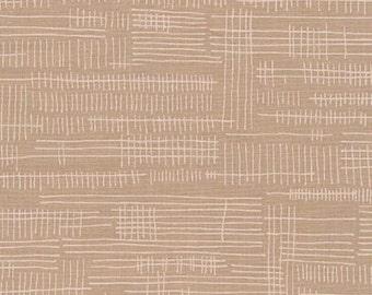 Carkai Stitches in Parchment, Carolyn Friedlander, Robert Kaufman Fabrics, 100% Cotton Fabric, AFR-15796-265 PARCHMENT