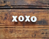 XOXO - Vintage Ceramic Push Pins