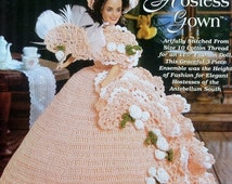 20%OFF The Needlecraft Shop PRISCILLA'S Hostess Gown Ladies of Fashion By Inez Collins Scott - Fashion Doll Crochet Pattern