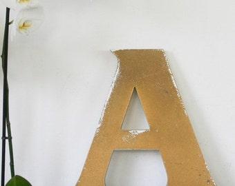 Shop Letter A, vintage signage