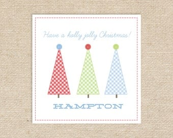 Digital Personalized Holiday Gift Tags