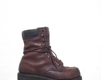 40% off Sale 7.5 D | Men's Lehigh Steel Toe Work Boots