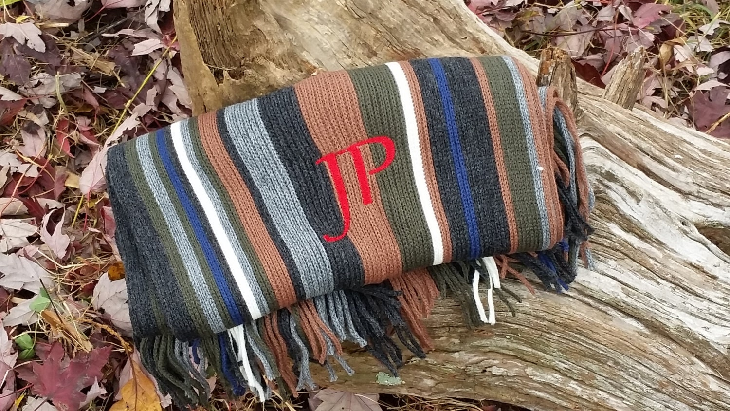 male boss gift monogrammed gifts for men personalized scarf