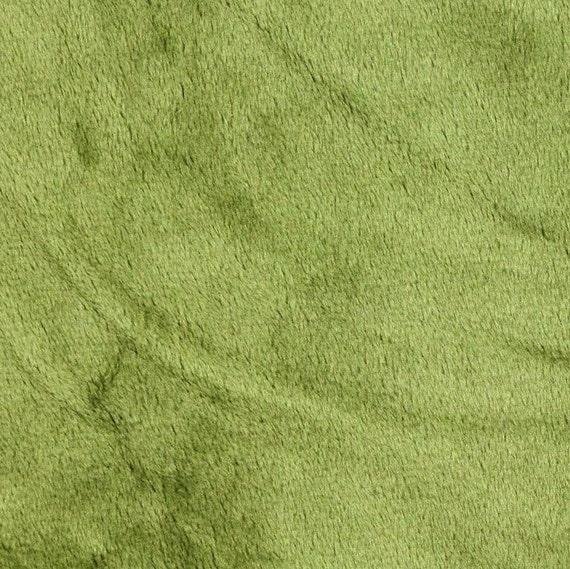 Green Cuddle Fabric,Minky Cuddle Fabric,Smooth Green Grass,Medium Heavy Weight Cuddle fabric,Soft Cuddle Fabric