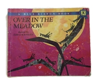Over in the Meadow vintage book