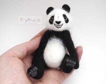 Needle Felted Panda.