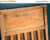 ON SALE National Washboard Company vintage washboard, Rustic home decor, No. 801