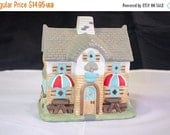ON SALE Partylite Tea Light Candle Holder, Coffee Shop theme / design