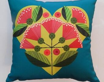 New Zealand, Pohutakawa, cushion, cover