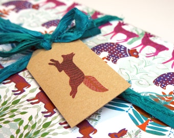 Allegretto Animal Gift Tags - Pack of Six