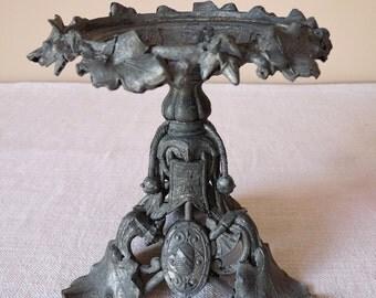 1860 Antique Metal CUP - XIX Napoleon III Antique Cup  - Circa 1860 Centerpiece