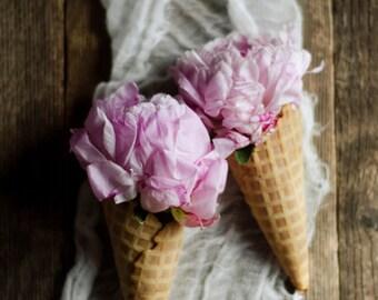 peony art print, farmhouse decor, rustic flower art, pink flower art, rustic kitchen art, pink peony print,floral nursery art,food art print