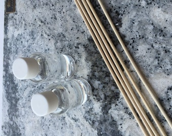 Fragrance Diffuser Oil  And Large Reed Sticks, Refills, Supplies