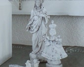 INFANT OF PRAGUE Small Statue Jeanne D Arc Living French Nordic Shabby Chic Quiet Living