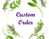 custom order for cinpon
