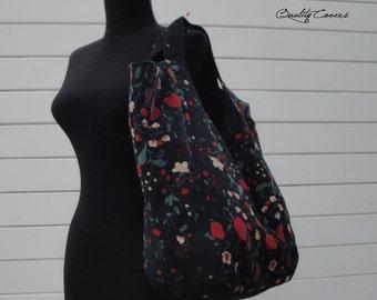 Customizable for Color Fabric and Size - Tote - Handbag - Shoulder Bag - Everyday bag - interior Pockets