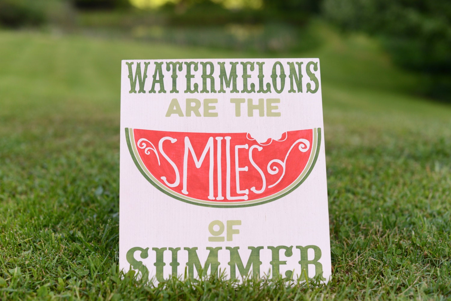 Watermelon Sign Watermelon Birthday Party Summer Sign