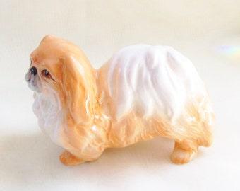Vintage Pekingese Dog Porcelain Figurine Sylvac England 3169