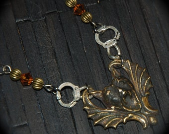 Howling Bat Necklace