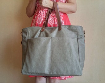 Weekend bag- weekender-travel bag- Diaper bag -gift for him/gift for her/travel accessories