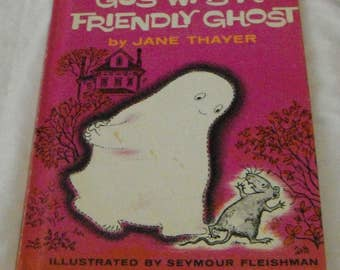 Gus Was a Friendly Ghost by Jane Thayer vintage hardcover book
