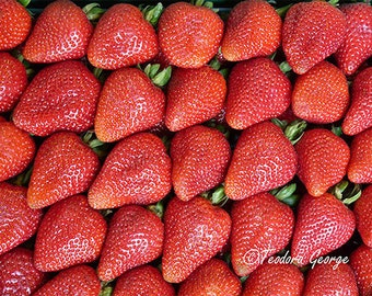 Strawberries Photography, Food Photography, Fruit Photo