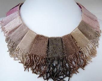 Peyote Necklace Tutorial Tropicalkaren Melting Bead Collar