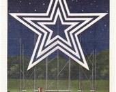 Roanoke, Virginia, Electric Star, Mill Mountain - Linen Postcard - Unused (Z)