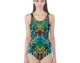 One Piece Designer Swimwear by Yummy Tie-Dyes