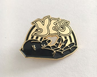 Yes Enamel Pin