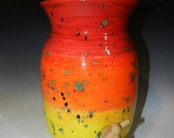 6 QT ceramic kombucha crock Made to order