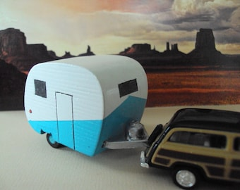 Christmas tree Camper Ornament
