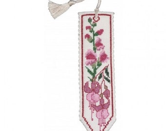 Textile Heritage Four Seasons Counted Cross Stitch Bookmark Kits in a Variety of Designs-Winter, Spring, Summer and Fall