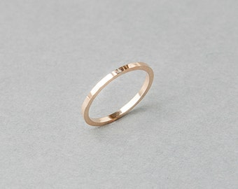 Silver or Gold-Fill Sundial Stack Band | Sequence Collection by Haley Lebeuf