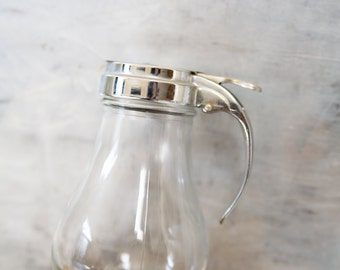Vintage Syrup Pitcher by Gemco  / Made in USA