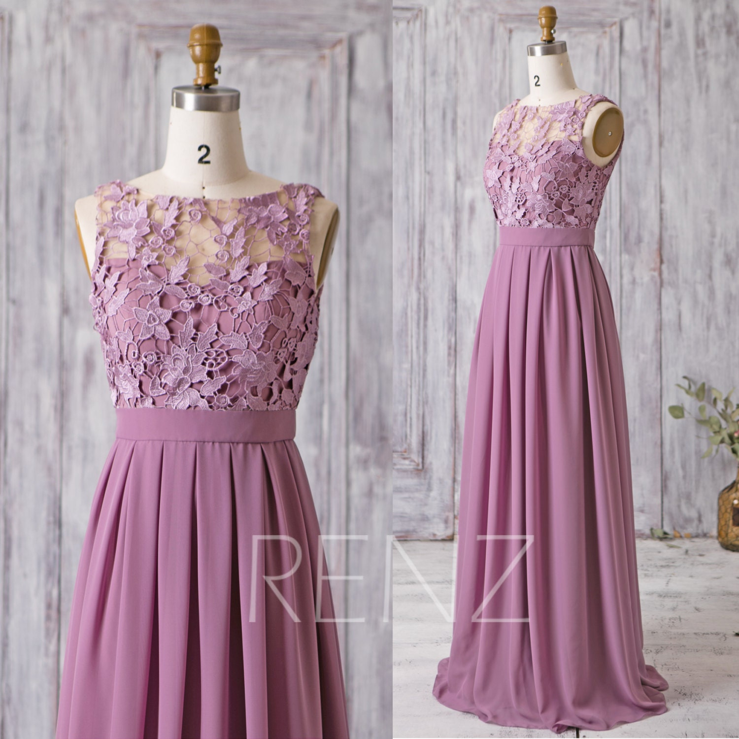 2017 mauve bridesmaid dress long dress lace illusion wedding for Prom dresses that look like wedding dresses