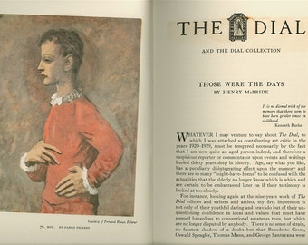 The Dial Collection 1959 Exhibition Catalog Book for the Worcester Art Museum Picasso E E Cummings Klimt, Chagall Braque Matisse & Much More