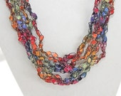 Dazzling  - Crocheted Necklace