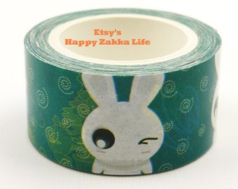 anime bunny - Kraft paper Tape - 20mm Wide - 7.6 Yards