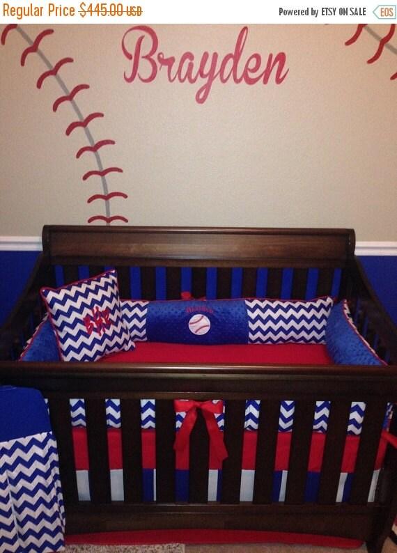 Memorial Day Sale Brayden Custom Crib Set 6 Pcs By