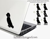 Goldendoodle Decal Vinyl Sticker  Silhouette My Pet Design:DOG-GDO02