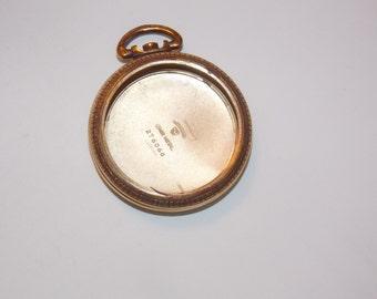 Gold Antique 42mm  Pocket Watch Case