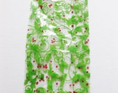 """25 Printed HOLIDAY BERRIES CELLO Bags (4"""" x 2-1/2"""" x 9-1/2"""")"""