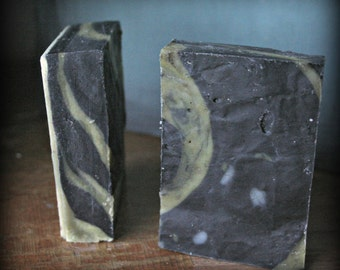 Purify Activated Charcoal Soap {Vegan} All Natural Handmade Soap | 4oz