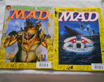 Mad Magazines from the late 90s