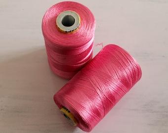 2000 meters of Art Silk Thread-Machine Embroidery Thread-Polyester Thread-Wholesale Embroidery Thread Spools-1 Big Spools 2000 meter each
