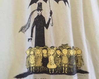 Edward Gorey The Gashleycrumb Tinies or After the Outing Tshirt Tee Shirt