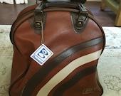 Brown Bowling Ball Bag brunswick man bag